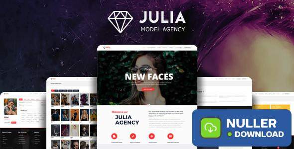 Julia v2.0.7 - Talent Management WordPress Theme
