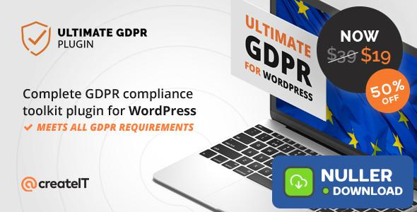 Ultimate GDPR v1.7.6 - Compliance Toolkit for WordPress