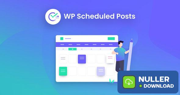 WP Scheduled Posts Pro v2.5.3