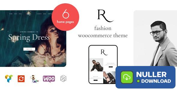 Rion v1.0.5 - Fashion WordPress Theme for WooCommerce