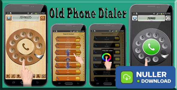Old Phone Dialer with Admob and StartApp