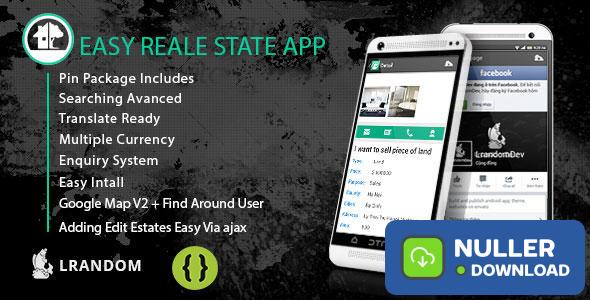 Easy Real Estate App - come with admin panel