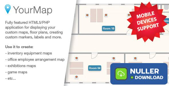 YourMap v1.12.2 - customizable maps with back-end panel