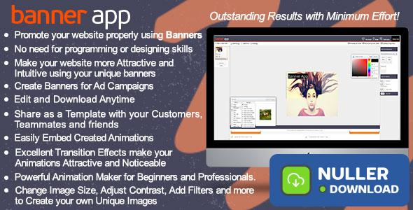 BannerApp - Html5 animated banners maker