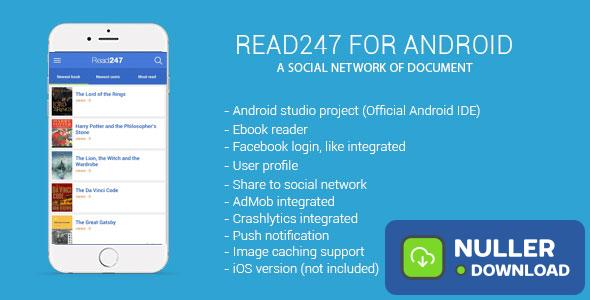 Read247 - social network of document (android)