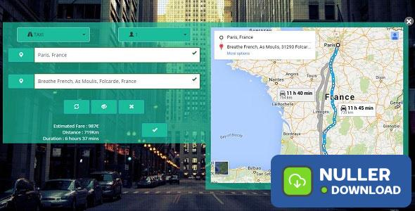 Taxi Booking Complete Android and Web Solution | Android
