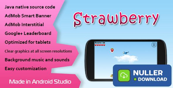 Strawberry Game with AdMob and Leaderboard
