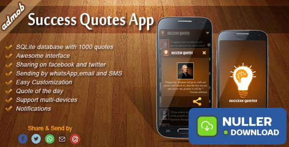 Success Quotes - Android Template