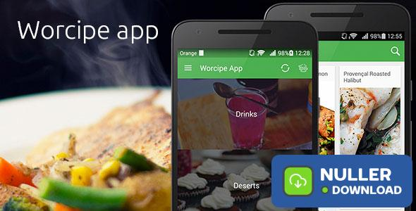 Worcipe App – Full Application Android