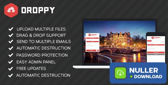 Droppy v2.0.9 - Online file sharing - nulled