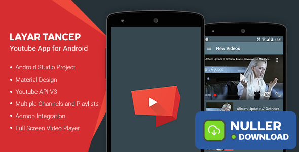 Layar Tancep v2.0 - Youtube App for Android