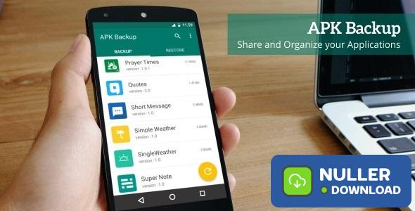APK Backup - Android App 1.2