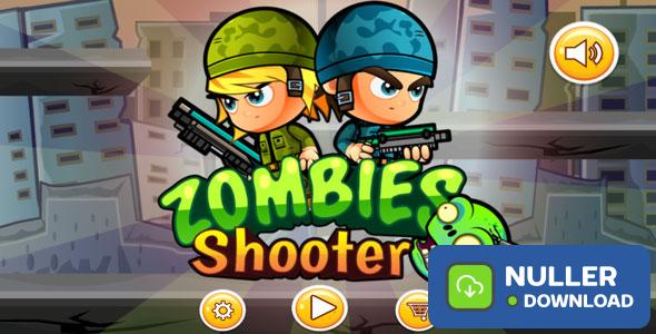 Zoombie Shooter (Eclipse - Buildbox 2.2.6 - Google games - Admob)