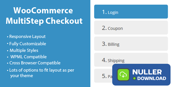 WooCommerce MultiStep Checkout Wizard v3.5.5