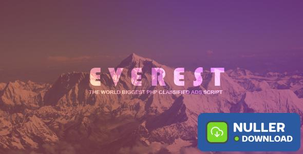 EVEREST v1.3.9 - PHP Classified Ads Script