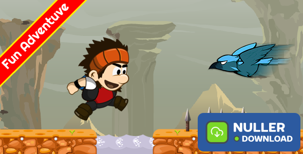Jungle Adventures 3 With AdMob And Leaderboard + IAP