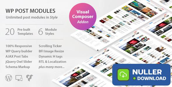 WP Post Modules for NewsPaper and Magazine Layouts v2.4.0