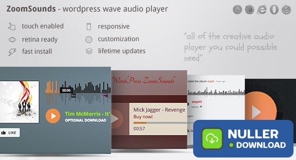 ZoomSounds v5.70 - WordPress Audio Player