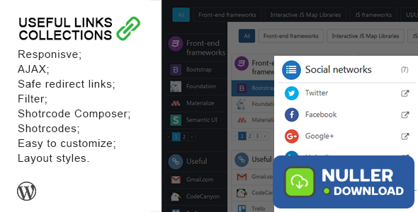 Useful Links Collections v1.1.8
