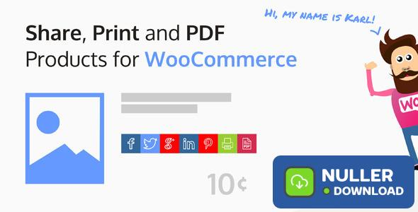 Share, Print and PDF Products for WooCommerce v2.5.6