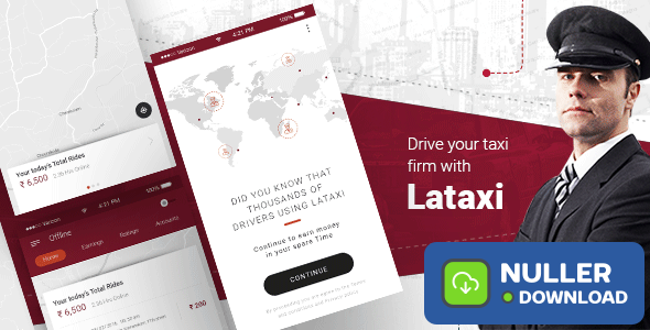 On Demand Taxi Booking Application Script- LaTaxi