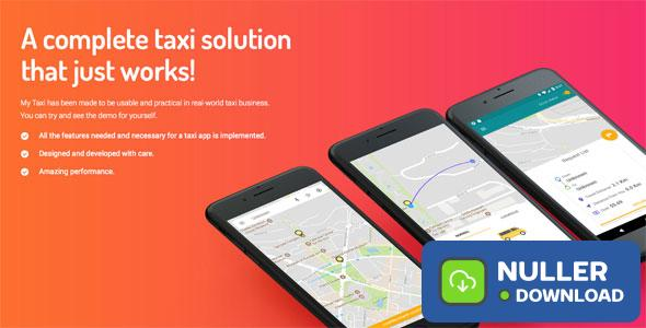 Taxi application Android solution + dashboard
