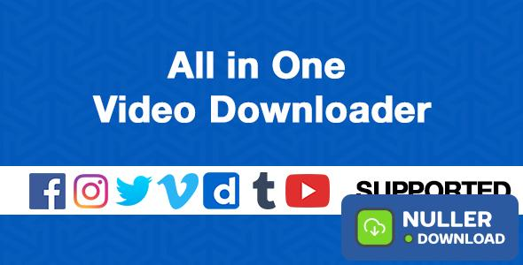 All in One Video Downloader v1.3