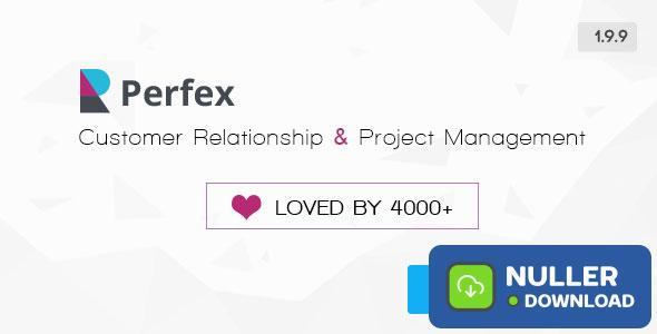 Perfex v1.9.9 - Powerful Open Source CRM