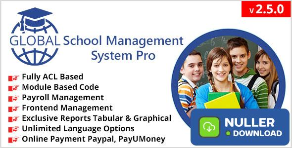 Global School Management System Pro v2.5.0