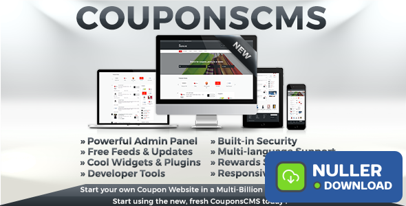 Coupons CMS v6.10