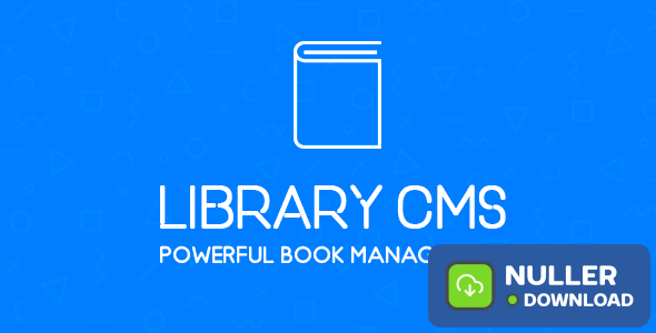 Library CMS v2.2.1 - Powerful Book Management System