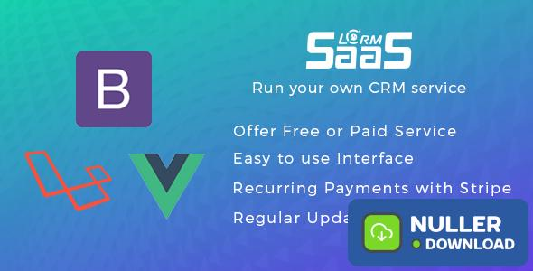 LCRM SAAS v1.1 - Run your own SAAS CRM