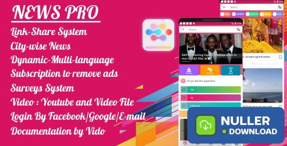 News App - Pro - All In One