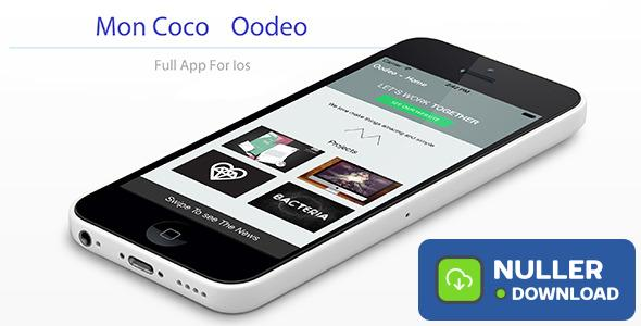 Moncoco-Oodeo V1.2 - Full App for iOS 9