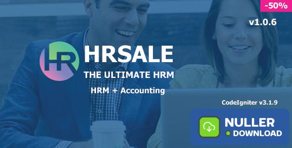 HRSALE v1.0.6 - The Ultimate HRM