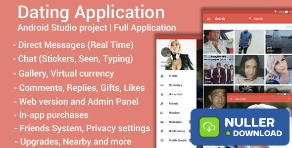 Dating App v3.7 - Android