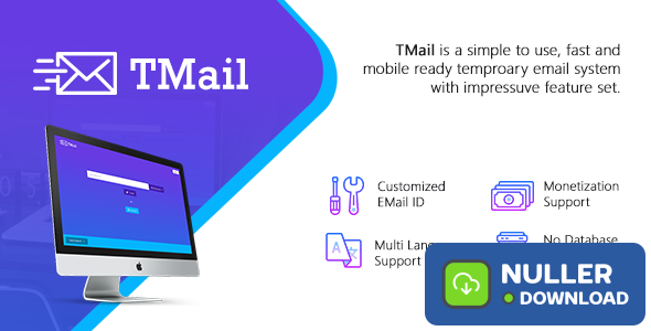 TMail v4.3.6 - Multi Domain Temporary Email System
