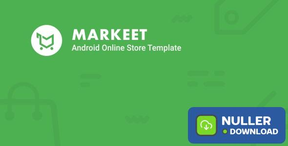 Markeet - Android Online Store 2.1