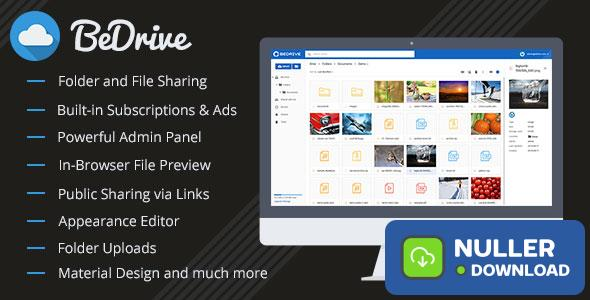 BeDrive v2.0.5 - File Sharing and Cloud Storage