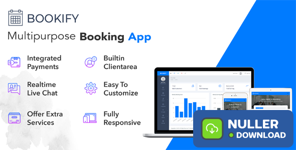 Bookify v1.3 - Multipurpose Booking App