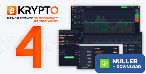 Krypto v4.0.5 - Live Trading, Advanced Data, Market Analysis, Watching List, Portfolio, Subscriptions
