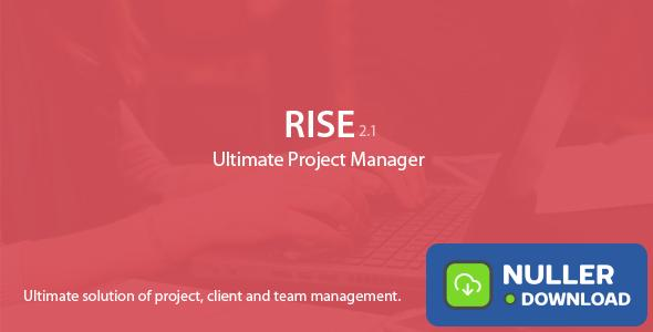 RISE v2.11 - Ultimate Project Manager - nulled