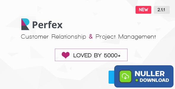 Perfex v2.1.1 - Powerful Open Source CRM