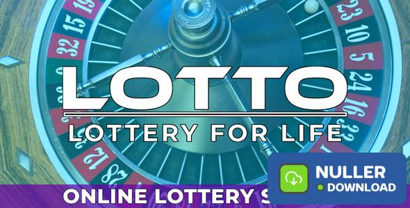 Lotto - Live Online Lottery System - nulled