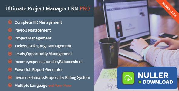 Ultimate Project Manager CRM PRO v1.3.3 - nulled