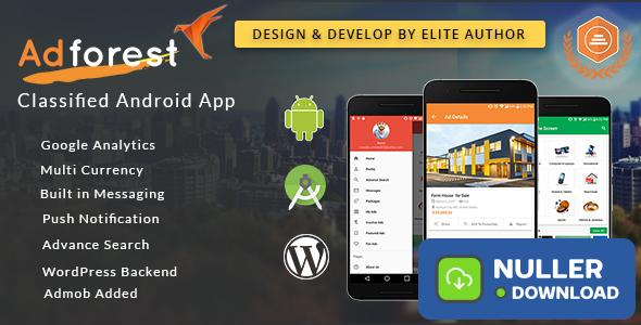 AdForest v2.0.1 - Classified Native Android App
