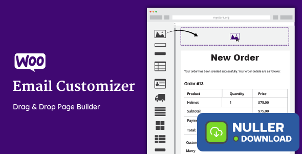 WooCommerce Email Customizer with Drag and Drop v1.5.11