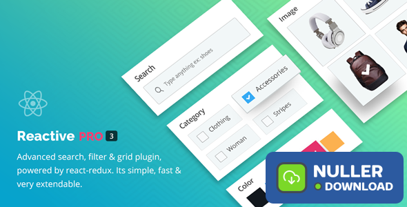 Reactive Pro v4.0.6.3 - Advanced Search Filter Map & Grid