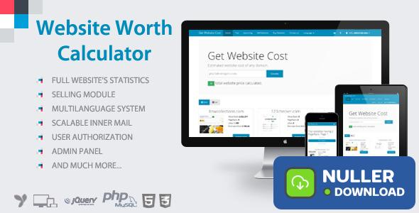 Website Worth Calculator v3.5