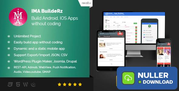 Ionic Mobile App Builder v18.12.10 - nulled